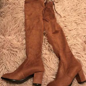 Goodnight Macaroon Julie OTK Boots